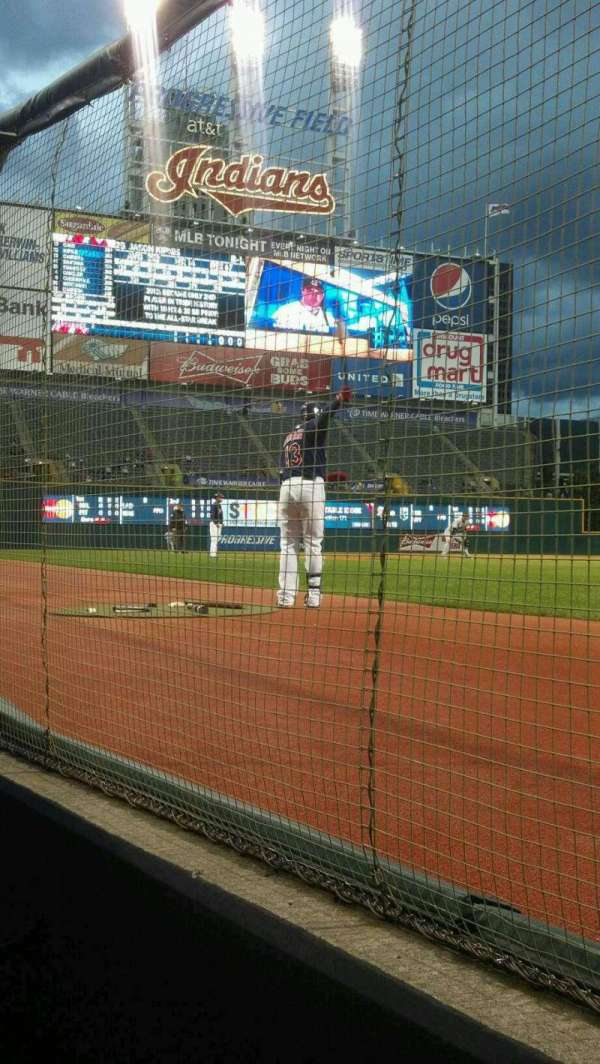 Progressive Field, section: D7