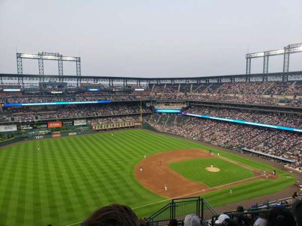 Coors Field, section: U344, row: 17, seat: 5