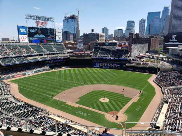 Target Field, section: 317, row: 7, seat: 1