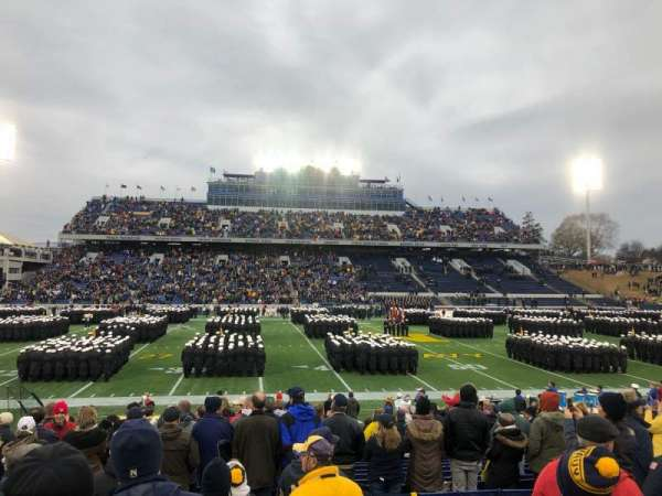 Navy-Marine Corps Memorial Stadium, section: 30, row: 7, seat: 23