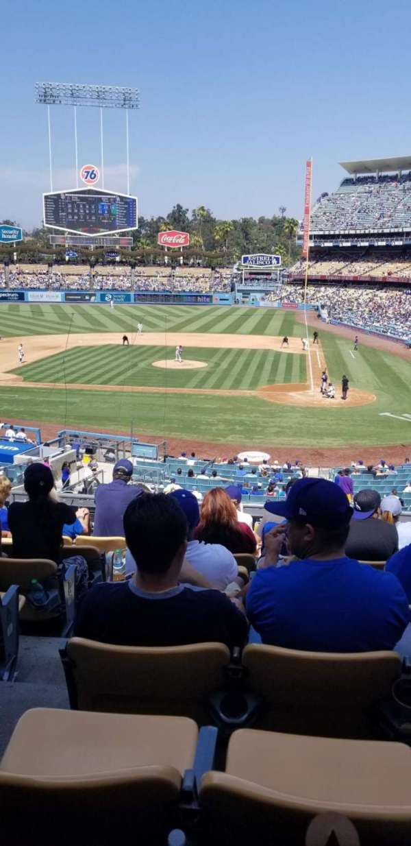 Dodger Stadium, section: 119LG, row: H, seat: 6