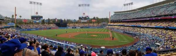 Dodger Stadium, section: 119LG, row: H, seat: 7