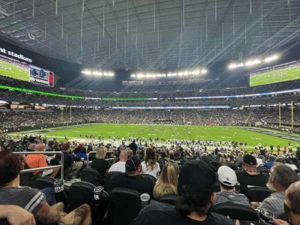 Allegiant Stadium, section: C111, row: 27, seat: 14-15