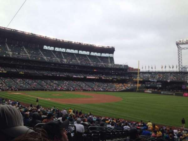 Safeco Field, section: 115, row: 35, seat: 12