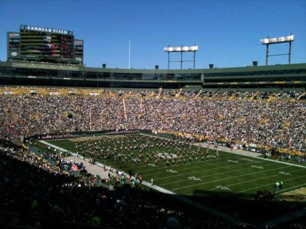 Lambeau Field, section: 340, row: 4, seat: 21