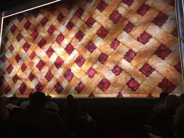 Brooks Atkinson Theatre, section: Orchestra R, row: E, seat: 2