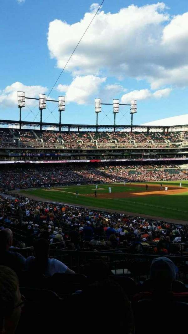 Comerica Park, section: 114, row: 41, seat: 16