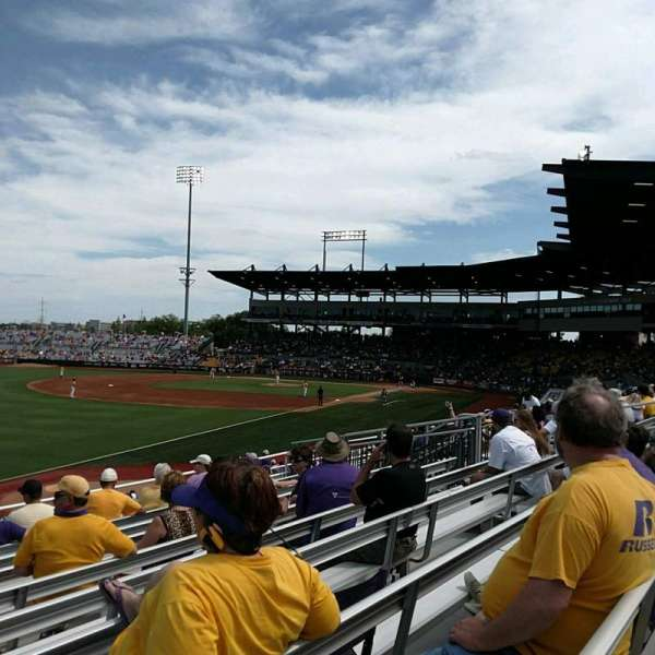 Alex Box Stadium, section: 222, row: 9, seat: 24