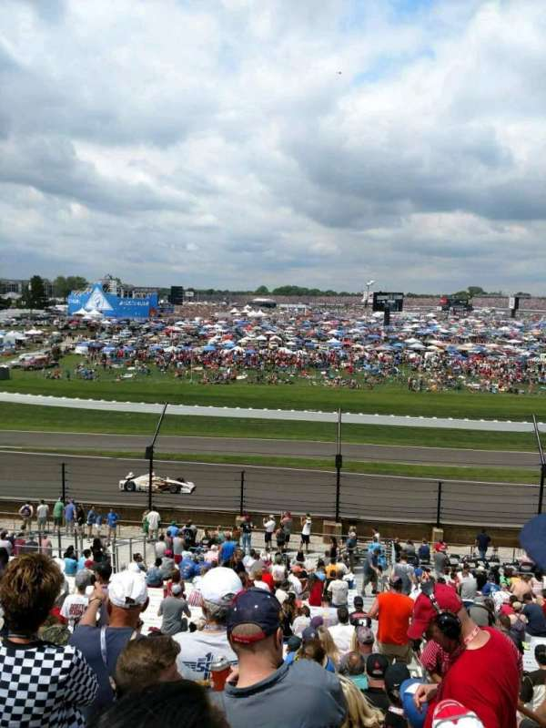 Indianapolis Motor Speedway, section: 32, row: KK, seat: 1