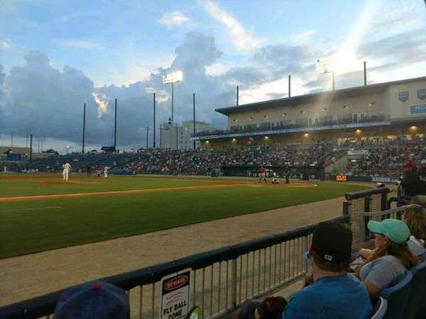 MGM Park, section: 108, row: B, seat: 18