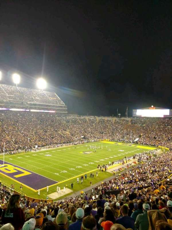 Tiger Stadium, section: 413, row: 37, seat: 17