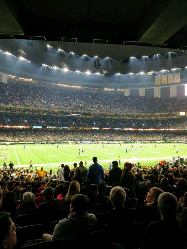 Mercedes Benz Superdome, Section: 119, Row: 28, Seat: 5