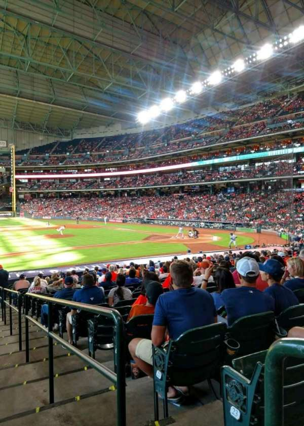 Minute Maid Park, section: 112, row: 25, seat: 16