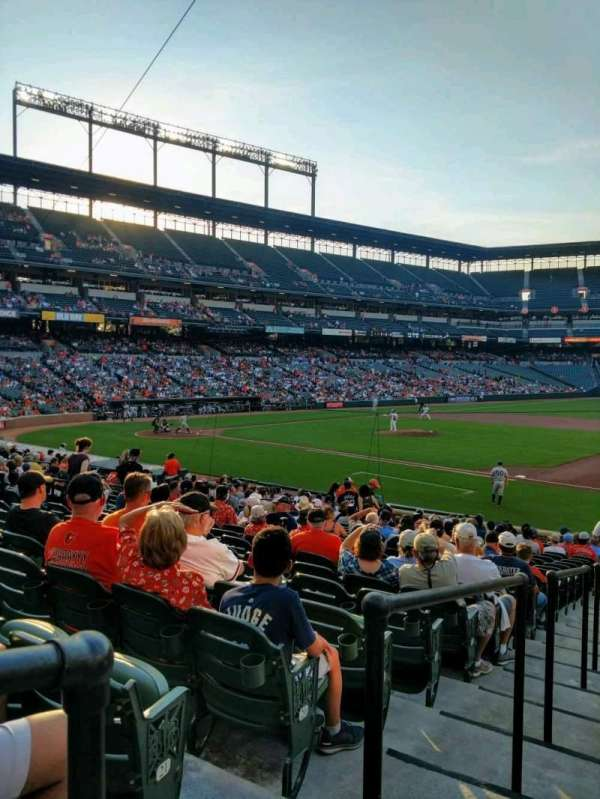 Oriole Park at Camden Yards, section: 16, row: 23, seat: 16