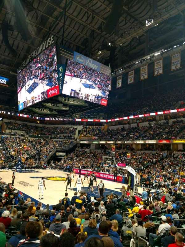 Bankers Life Fieldhouse, section: 13, row: 16, seat: 26