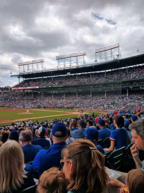 Wrigley Field, section: 110, row: 14, seat: 1