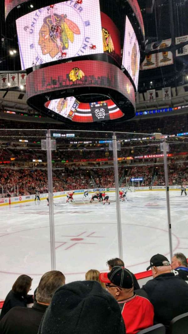 United Center, section: 104, row: 5, seat: 21