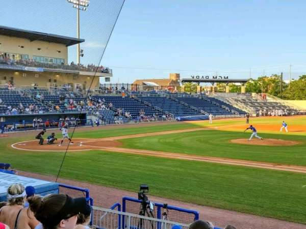 MGM Park, section: 107, row: K, seat: 1
