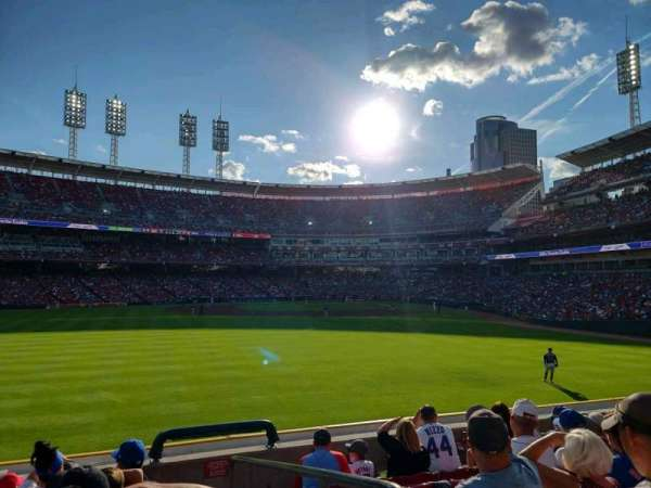 Great American Ball Park, section: 102, row: G, seat: 1