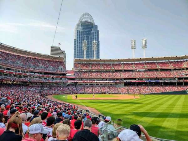 Great American Ball Park, section: 138, row: AA, seat: 2