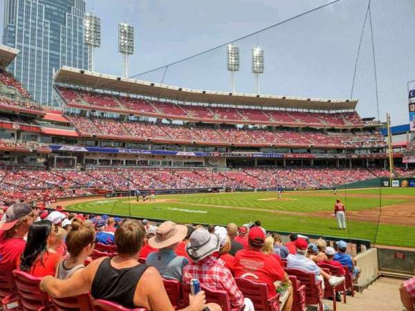 Great American Ball Park, section: 132, row: O, seat: 15