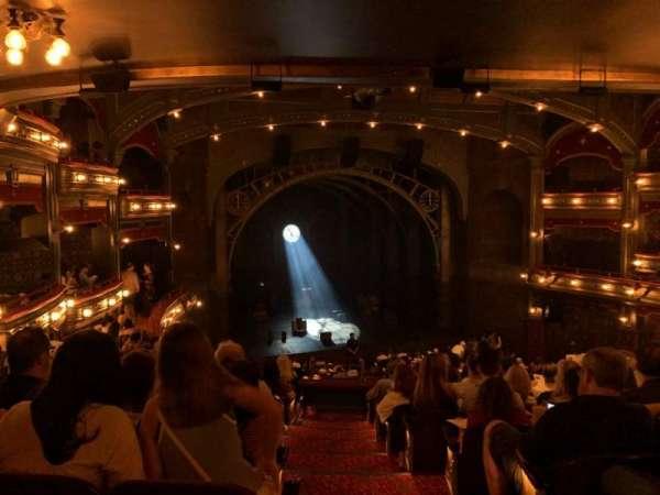 Lyric Theatre, section: Dress Circle L, row: K, seat: 1