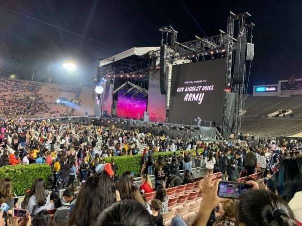Rose Bowl, section: 19, row: 7, seat: 9