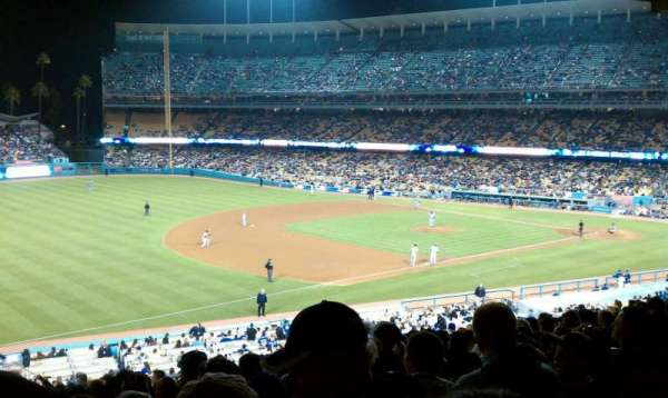 Dodger Stadium, section: 29FD, row: W, seat: 6
