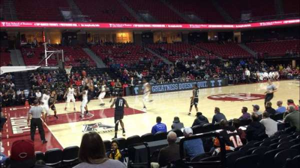 Liacouras Center, section: 115, row: J, seat: 2