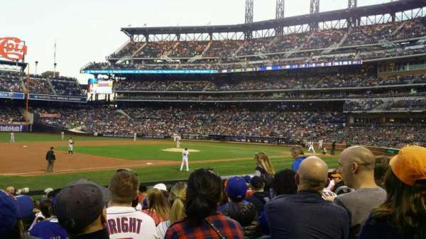 Citi Field, section: 124, row: 12, seat: 8
