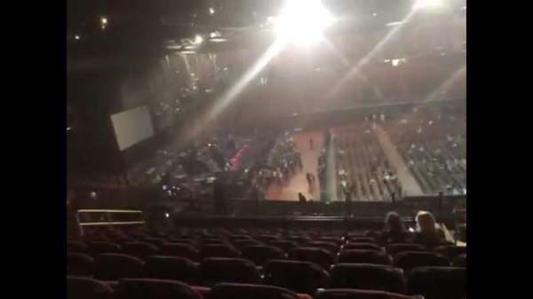 The Forum, section: 226, row: 14, seat: 11