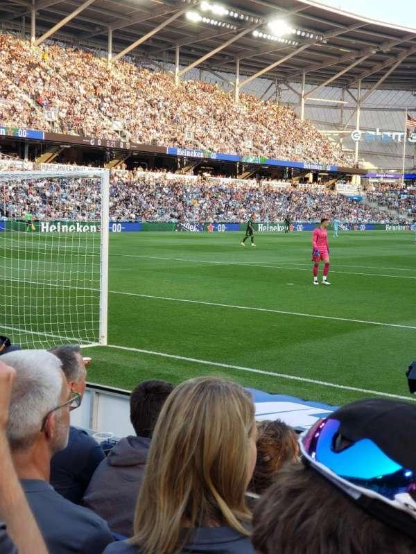 Allianz Field, section: 3, row: 4, seat: 17