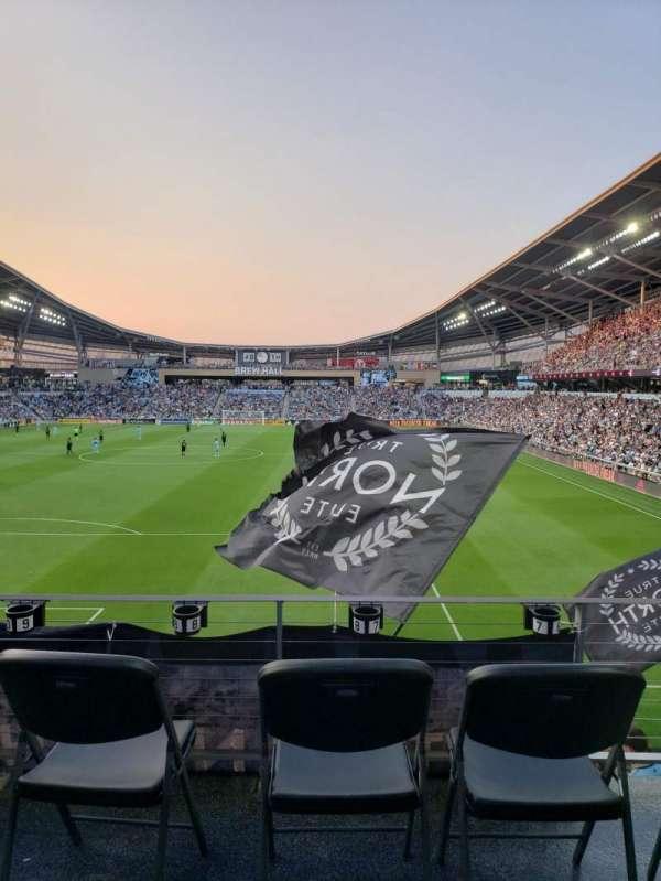 Allianz Field, section: Wonderwall