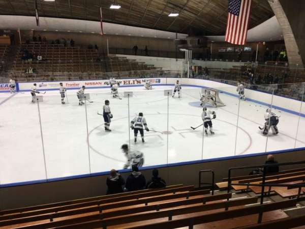Ingalls Rink, section: 2, row: k, seat: 33
