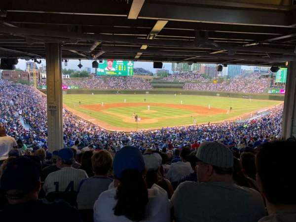 Wrigley Field, section: 222, row: 19, seat: 6