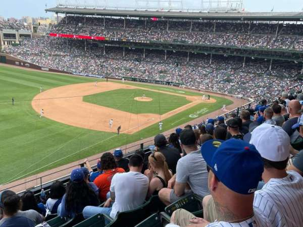 Wrigley Field, section: 306L, row: 6, seat: 5