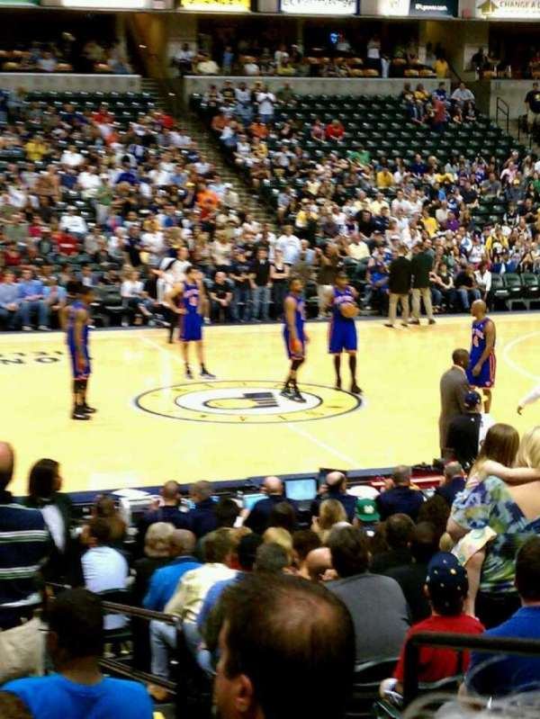 Bankers Life Fieldhouse, section: 17, row: 8, seat: 9-10