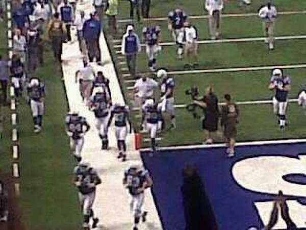 Lucas Oil Stadium, section: End zone