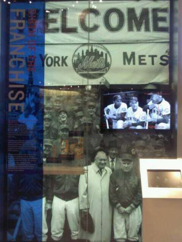 Citi Field, section: HOF Museum, seat: SRO