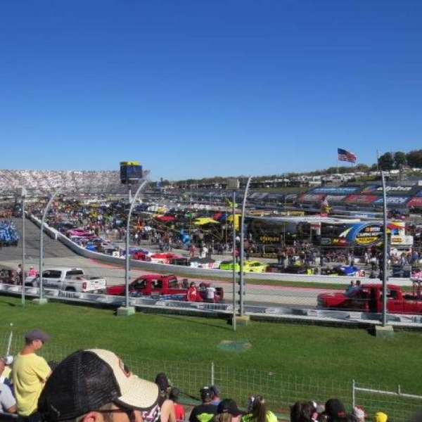 Martinsville Speedway, section: Sprint Tower DD, row: 10, seat: 8