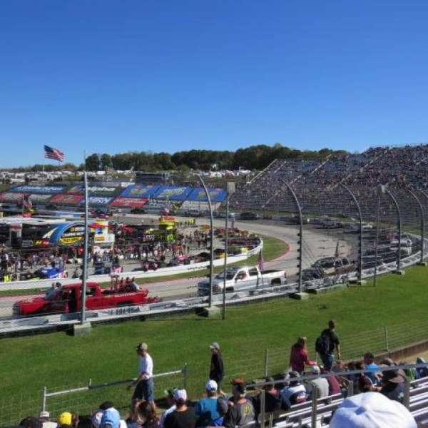 Martinsville Speedway, section: Sprint Tower DD, row: 10, seat: 8