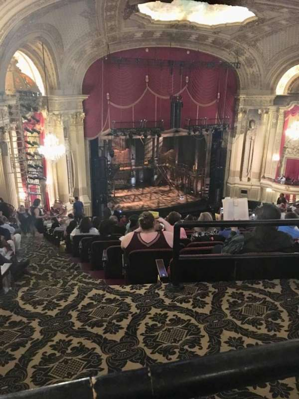 Boston Opera House, section: BALLFT, row: P, seat: 43