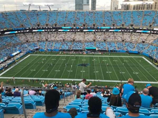 Bank of America Stadium, section: 541, row: 25, seat: 23