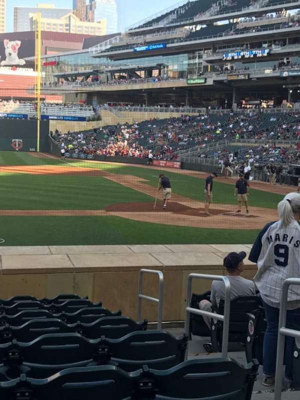 Target Field, section: 12, row: 13, seat: 3