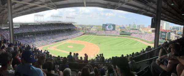 Wrigley Field, section: 530, row: 4, seat: 11