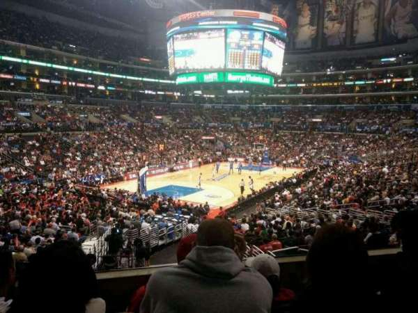 Staples Center, section: 214, row: 4, seat: 7