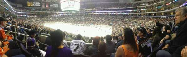 Staples Center, section: PR11, row: 8, seat: 9