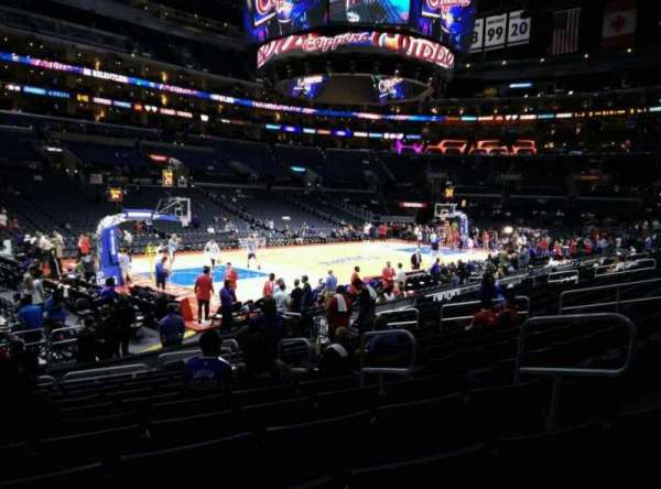Staples Center, section: 104, row: 15, seat: 6