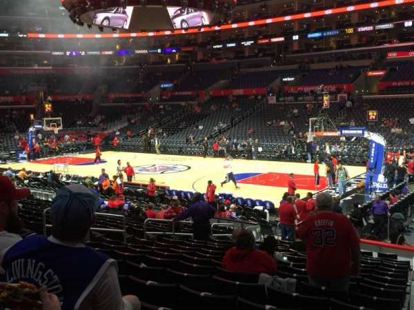 Staples Center, section: 118, row: 17, seat: 1