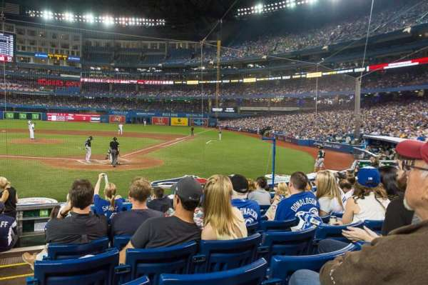 Rogers Centre, section: 123R, row: 13, seat: 1